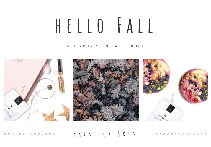 Make your skin autumn proof