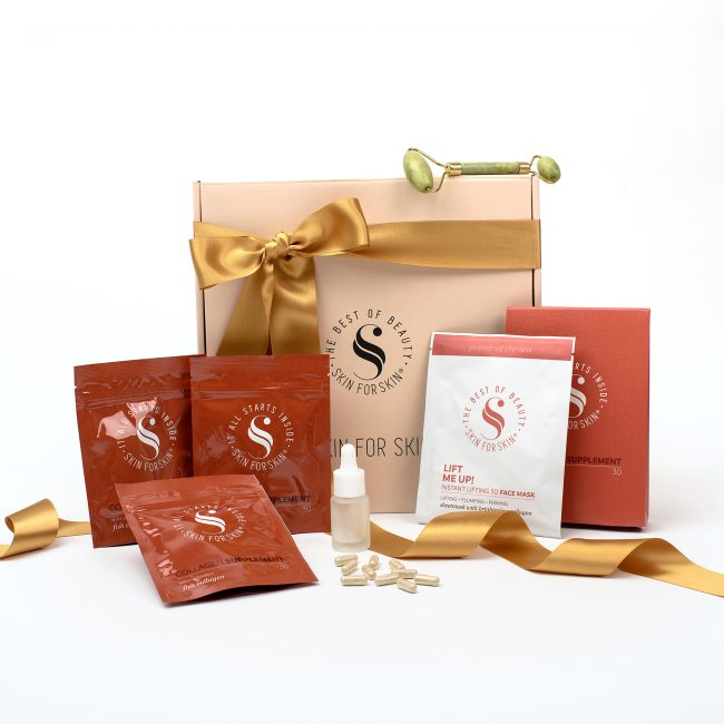 gift-of-glowing-skin-christmas-box-collagen-supplement-facemask-jaderoller-serum-bottle