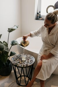 Create a spa treatment with these simple steps at home!